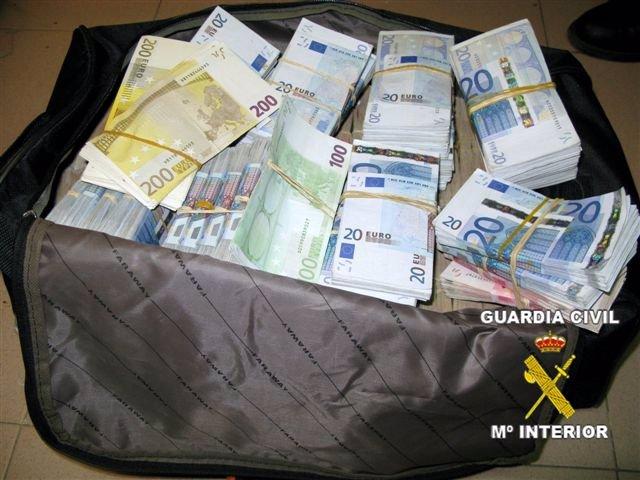 Dinero intervenido