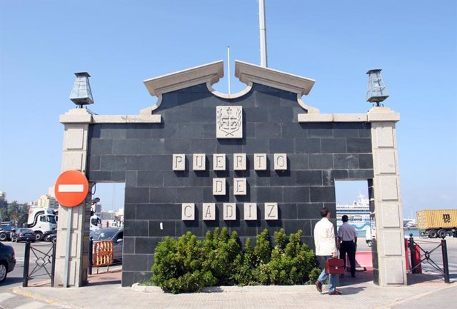 Imagen del Puerto de Cádiz