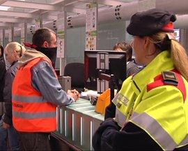 Los aeropuertos catalanes operan el 64% de los vuelos programados hasta las 10.00 horas