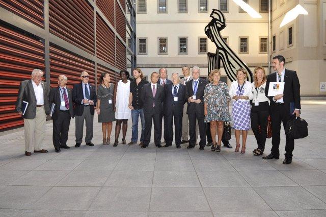La delegación de la candidatura de Las Palmas de Gran Canaria a Capital Cultural