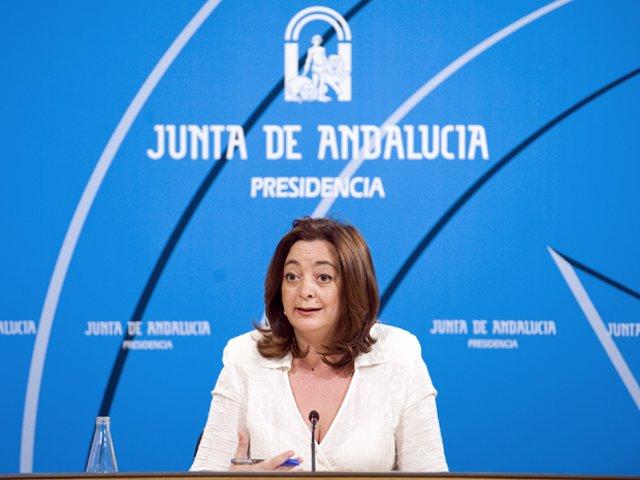 Mar Moreno, en rueda de prensa