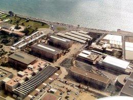 Imagen aérea de la Universidad de Almería (UAL)