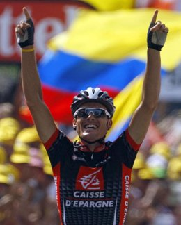 El ciclista español Luis León Sánchez