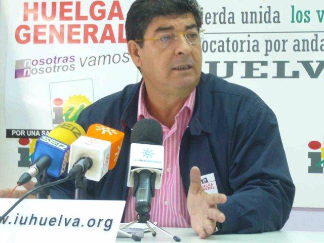 Coordinador de IULV-CA, Diego Valderas