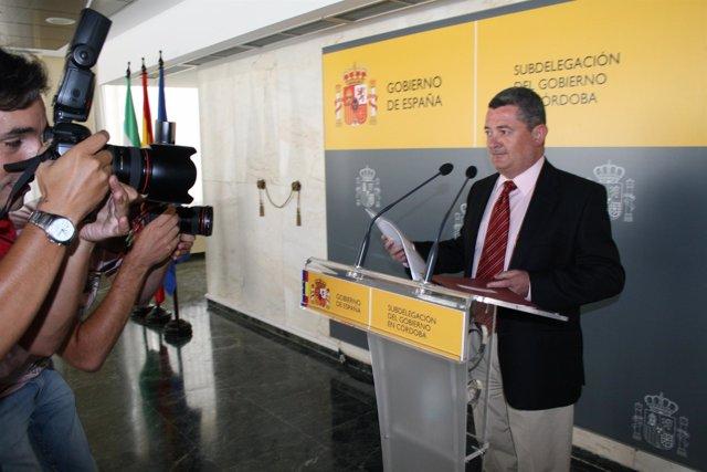 El subdelegado del Gobierno central en Córdoba, Jesús María Ruiz
