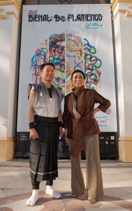 Eitetsu Hayashi y Yoko Komatsubara presentan 'Hibiki' (este-oeste)