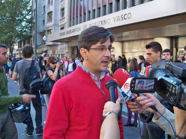 Mikel Arana, coordinador general de EB