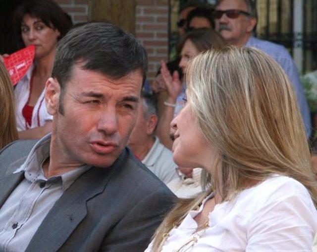 Tomás Gómez y Trinidad Jiménez en una imagen de archivo