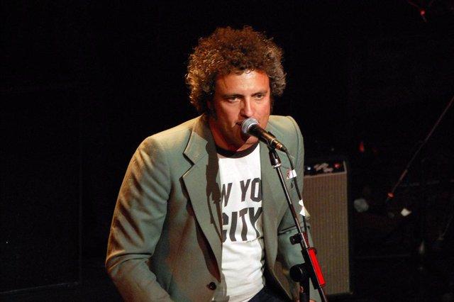 El cantante de M-Clan, Carlos Tarque