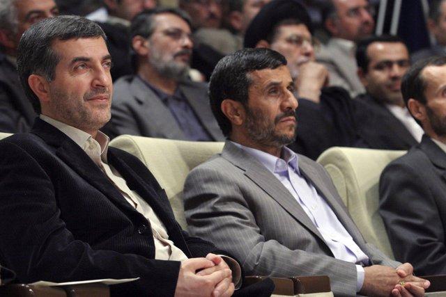 Esfandiar Rahim Mashaie, jefe de personal de Ahmadineyad