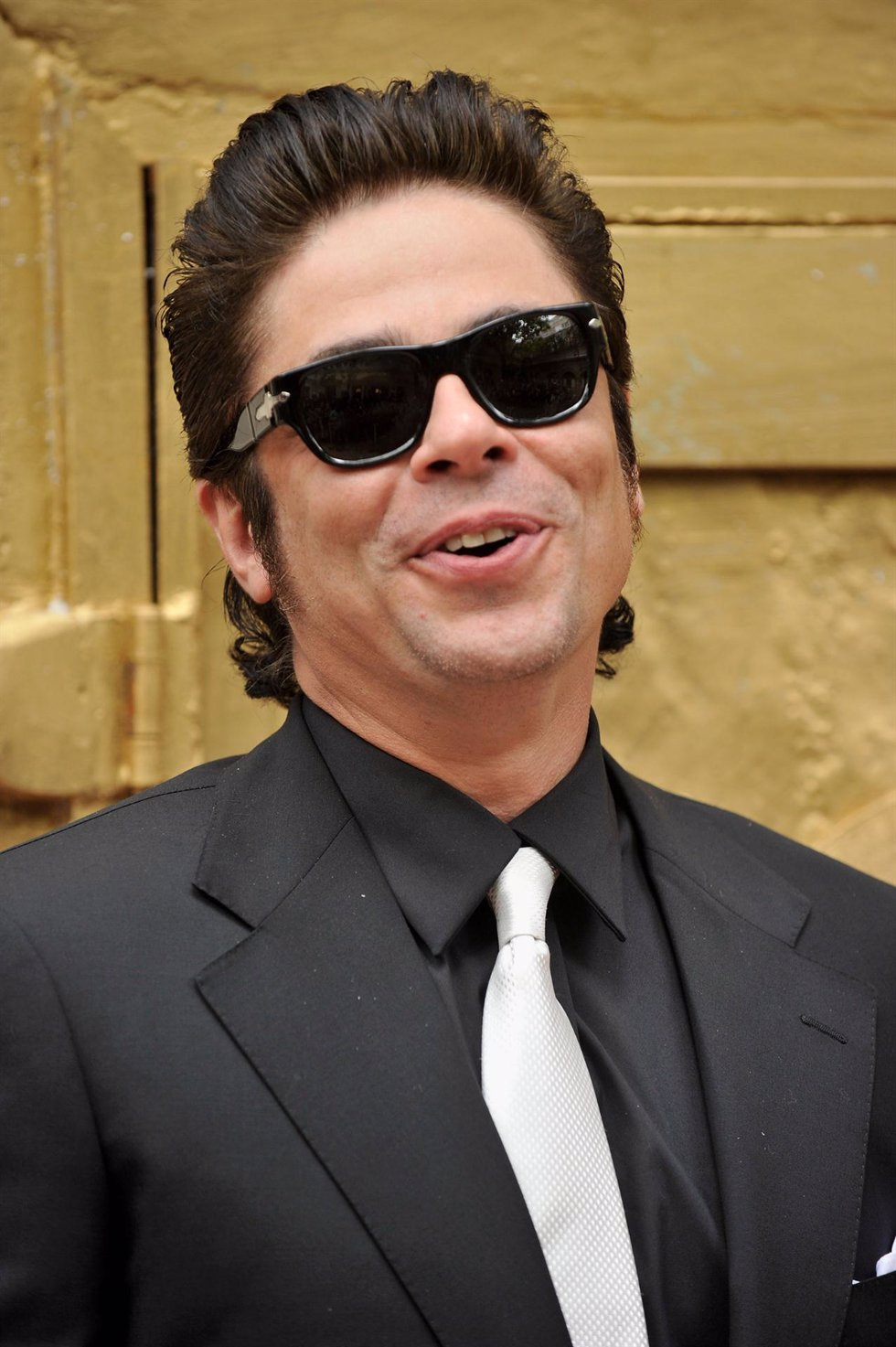 El actor Benicio del Toro presenta el nuevo Magnum Gold Ice-cream en Barcelona