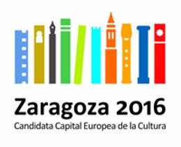 Logotipo de la candidatura de Zaragoza a Capital Europea de la Cultura 2016