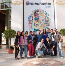 El espectáculo 'Flamenco School Musical' se presenta en la Bienal