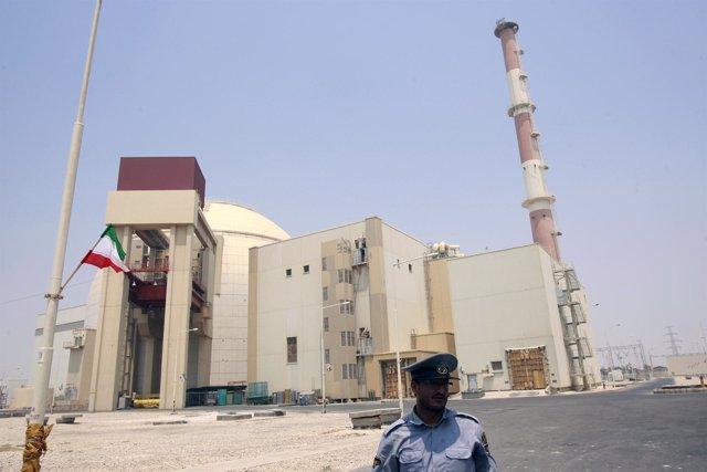 Reactor nuclear iraní en Bushehr (al sur de Irán)