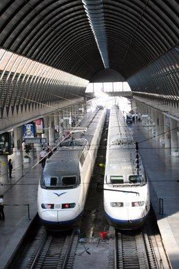 Estación del AVE en Sevilla