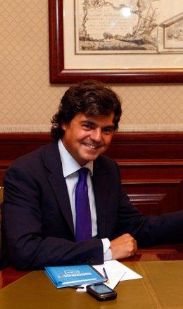 Jorge Moragas, coordinador Internacional PP