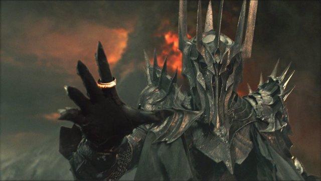 Sauron en El Señor de los Anillos