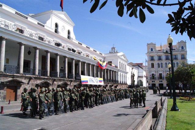 Palacio presidencial de Ecuador (de Carondelet)