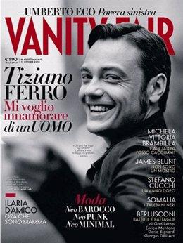 El cantante italiano Tiziano Ferro confiesa su homosexualidad en la revista 'Van