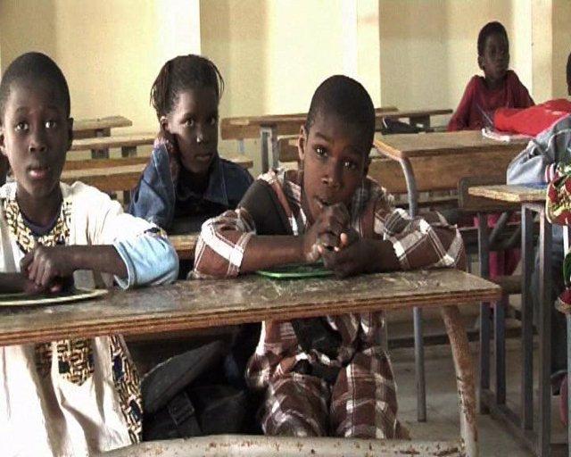 Africanos en la escuela