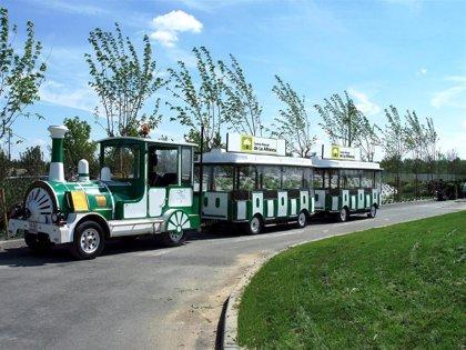 El tren turístico de La Alfranca estará operativo en las Fiestas del Pilar