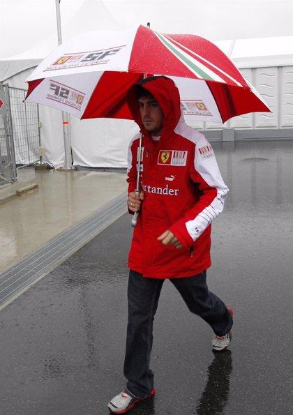La lluvia obliga a posponer la sesión de calificación