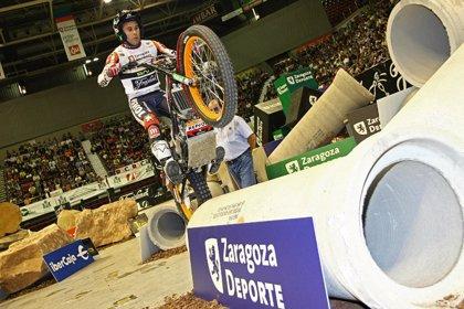 Motociclismo/Trial.- Toni Bou empieza el Campeonato de España venciendo en Zaragoza por tercera vez consecutiva