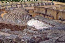 Teatro romano de Itálica.