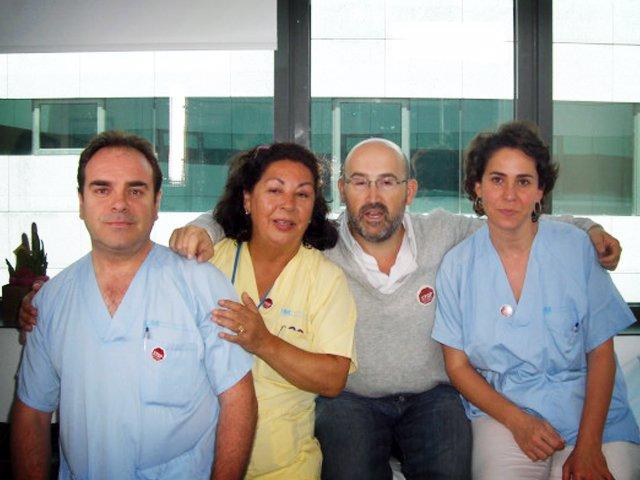 Javier Cámara, campaña enfermeros