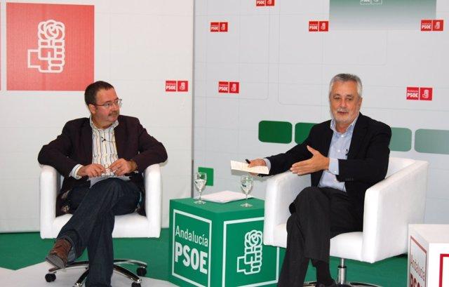 Ángel Gallego y José Antonio Griñán