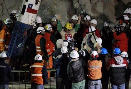 Cuatro mineros rescatados en Chile