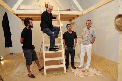 TEA acoge un encuentro con los creadores Diego Vites y Néstor Delgado, autores de 'Buhardilla'