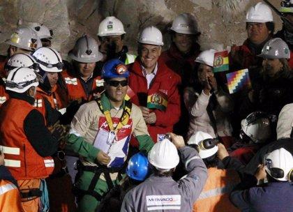 Cinco mineros rescatados en Chile