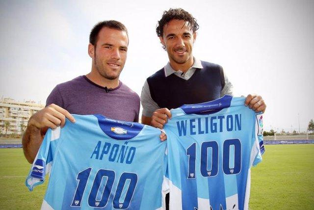 Apoño y Weligton 100 partidos
