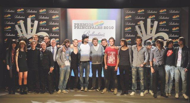 Resultado de imagen de premios 40 principales 2010 alejandro sanz