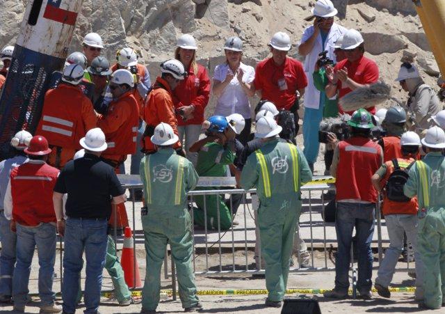 Rescate de mineros en la mina San José de Chile
