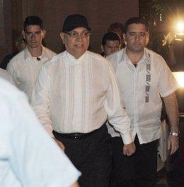 El presidente de Paraguay, Fernando Lugo