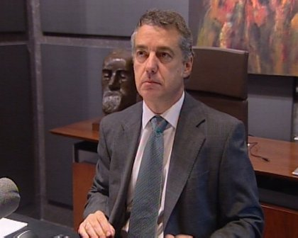 """Urkullu precisa que el acuerdo con PSOE no es un pacto de legislatura y que el Estatuto no es """"la estación final"""" de PNV"""