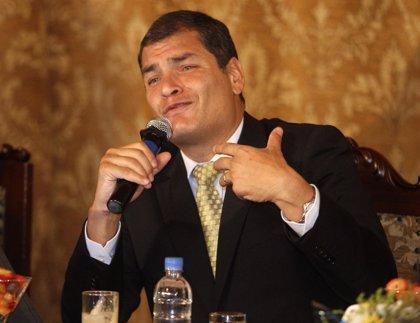 Correa tiene pruebas para acusar a los autores del golpe de Estado