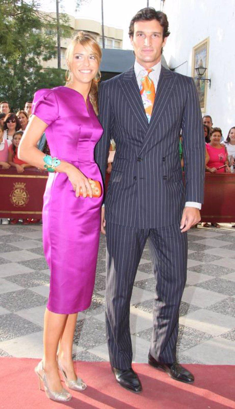 La aristocracia se da cita en la boda de Rafael Medina