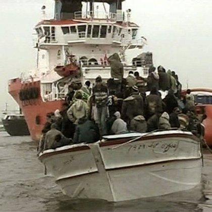 Rescatada una patera con once magrebíes a bordo, todos adultos, al suroeste de Cabo de Gata