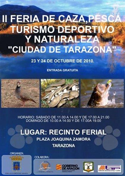 Tarazona celebrará la segunda Feria de Caza, Pesca, Turismo Deportivo y Naturaleza