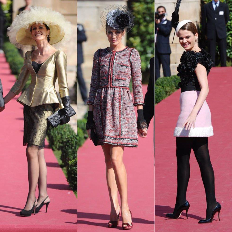 Nieves Álvarez, Nuria March y Alejandra Rojas, las más elegantes en ...