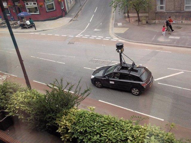 Coche de Google Street View