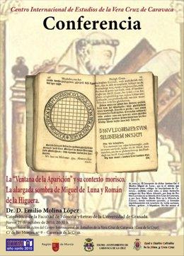 El historiador arabista Emilio Molina ofrece una conferencia sobre la Ventana de