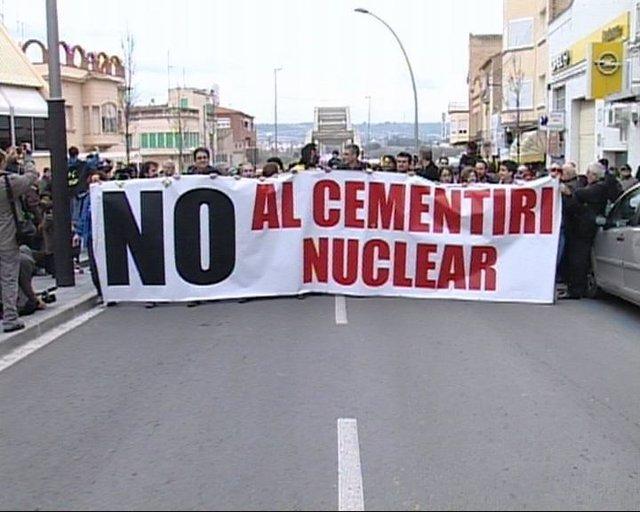 Manifestación Contra El ATC