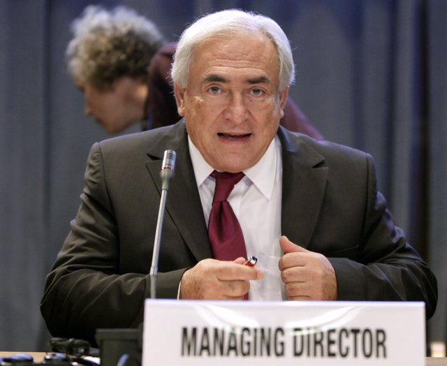 Director gerente del FMI, Dominique Strauss- Kahn