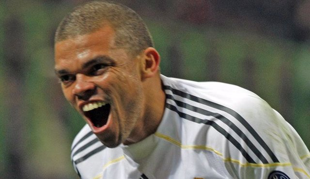 Pepe, del Real Madrid