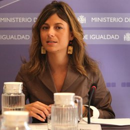 Ministra de Igualdad, Bibiana Aído