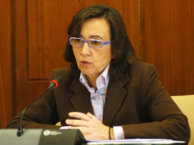 Rosa Aguilar, en comparecencia parlamentaria